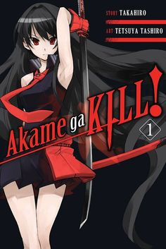 Akame ga KILL! Graphic Novel 1 #rightstuf2014