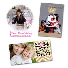 Did you know 45% of all greeting cards sent are Christmas cards? And Americans buy 140 million cards for Mother's Day even though there are only about 83 million mothers in the country! Make your cards extra special with designs from @bonniemarcus The Bonnie Marcus Collection at Kodak Picture Kiosk.
