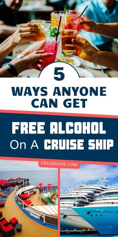 Cruise tips on how to get free alcohol during a cruise vacation. Packing For A Cruise, Cruise Travel, Cruise Vacation, Honeymoon Cruises, Europe Packing, Traveling Europe, Vacation Deals, Backpacking Europe, Packing Lists
