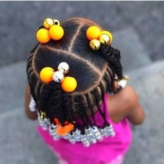 Hairstyles african american Black Kids Hairstyles with Braids, Beads and Accessories Bl. Black Kids Hairstyles with Braids, Beads and Accessories Black Kids Hairstyles with braids, Beads and Other Accessories Black Little Girl Hairstyles, Toddler Braided Hairstyles, Toddler Braids, Baby Girl Hairstyles, Natural Hairstyles For Kids, Braids For Kids, Box Braids Hairstyles, Natural Hair Styles, Hairstyle Ideas