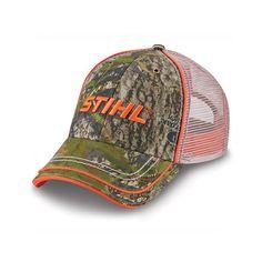 fe2093708e2 Men s STIHL Mossy Oak Camo Hat   Cap with Mesh Back - 8401803