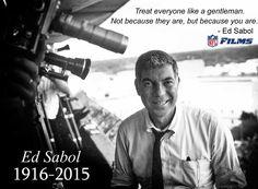 RIP Ed Sabol a Pione