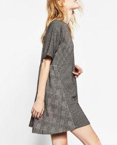 Image 3 of FULL CHECK DRESS from Zara