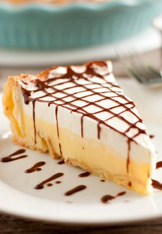 Cream Puff Pie - You will find this pie is anything but shy on the cream. That is what makes it so incredibly creamy, delicious and decadently divine. You may even want to make two of these because they are going to go quick.