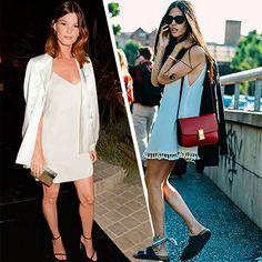 Slip dress para compor looks para o dia e para a noite