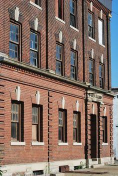 Kokomo, Indiana old brick building