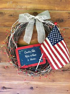 "My ""PATRIOTIC WREATH"" for 2014"