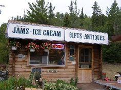 George and Brenda's ice cream shop