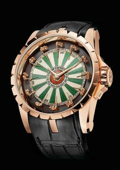 www.watchtime.com | watches wristwatch industry news  | Knights of Gold: Roger Dubuis Excalibur Roundtable | RD Excalibur RoundTable front 560