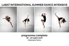LABAT INTERNATIONAL SUMMER DANCE INTENSIVE Programma completo
