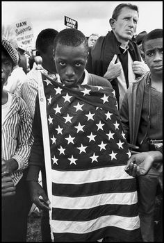 Bruce Davidson - The Selma March. Alabama, 1965. S)  I wish bo would quit undoing all the work done during the civil rights movement!
