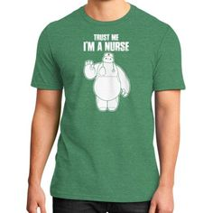 Im a nurse District T-Shirt (on man)