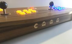 Bespoke Retro Control Panel Arcade Machine by Infinity Arcades