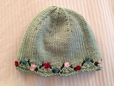 One day baby hat pattern