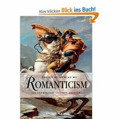 Wu, Duncan: Romanticism. An Anthology, Blackwell