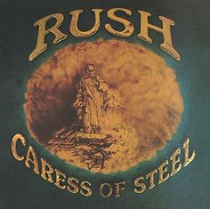 My Idea!  Cares of Steel van! Rush - Caress Of Steel [LP] - Amazon.com Music