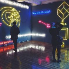 JOSEPH KOSUTH EXHIBITION SPRUTH MAGERS  The Neon Hunter My year in neon project LE Photography http://the-neon-hunter.tumblr.com/