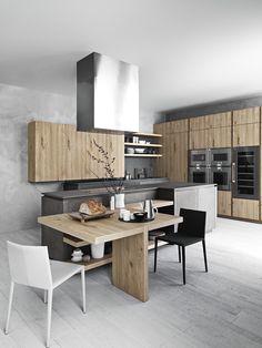 Cloe #kitchen by Cesar at Salone del Mobile 2014 @Cesar Chavez Cucine & Living