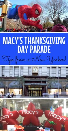 Visiting the Macy's Thanksgiving Day Parade in New York City this year? Get tips for surviving the crowds and getting the best view from a local.