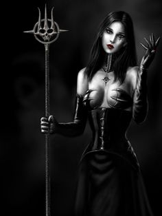 This Sexy Female Vampire Painting is a must see! What makes a vampire sexy? This vamp pic will any that question. Vampire Images, Art Vampire, Vampire Pictures, Female Vampire, Vampire Girls, Gothic Art, Gothic Girls, Dark Gothic, Dark Fantasy Art