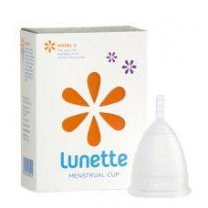 Lunette - Copo Menstrual Transparente | Círculo Bio - Loja Produtos Naturais e Cosmética Biológica