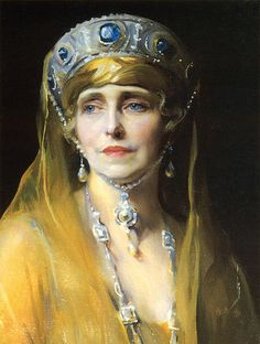 Philip de László Portrait of Queen Marie of Romania
