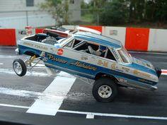 Drag Racing Diorama