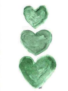 Green of Hearts Spring Green, Mint Green, Olive Green, Emerald Green, Army Colors, Cabbage Roses, World Of Color, Boku No Hero Academy, Military Green