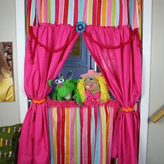door puppet theatre.  I could change a couple things here.  Finishes etc...