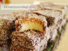 Nişastalı Kek Lokumu Tarifi - Kevser'in Mutfağı - Yemek Tarifleri
