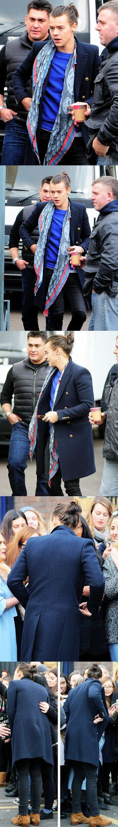 Harry Styles is prettier and more fashionable then me. Surprisingly I'm ok with it.