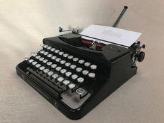 Schreibmaschine Erika 5, Seidel & Naumann um 1940 portable typewriter