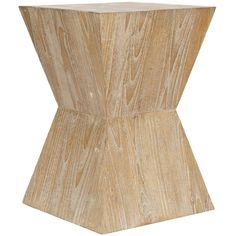 Safavieh Bali Sugkai Wood Side Table   Overstock.com Shopping - The Best Deals on Coffee, Sofa & End Tables