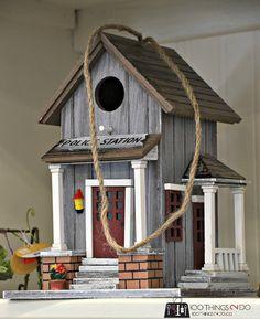 Birdhouse - police station