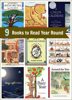 9 Children's Books You Can Read Year Round! (Such a great way to help children explore the months and seasons of the year!) ~ Buggy and Buddy