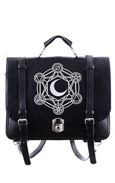 Restyle Gothic Moon Messenger Bag - Sorry Sold Out