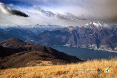 Bellissimo giro ad anello sulle Prealpi Varesine, verso il monte Paglione in canton ticino