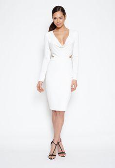Hedonia Tiffany Dress in White