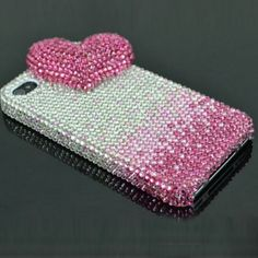Bling Loving You Case Mobile Phone Cover Pink for Apple iPhone 4 #iPhone #iPhone4 #apple #cases #case #cover #accessories #diamond #bling