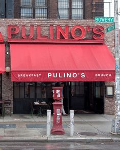 This bride-to-be had her bridal brunch at Pulino's in NYC--click for all the details!