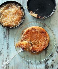 Παραδοσιακό κανταΐφι με γέμιση τυριού που βρίσκουμε στην Τουρκία αλλά και σε όλο τον αραβικό κόσμο.