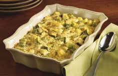 Add some variety to your menu with this healthy homemade side dish. The dry breadcrumbs soak up the flavors of this zucchini-enriched casserole. Basic Casserole Recipe, Best Casserole Recipes Ever, Healthy Casserole Recipes, Zucchini Casserole, Best Casseroles, Heart Healthy Recipes, Low Salt Recipes, Low Sodium Recipes