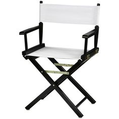 Director's Chair Frame ($49) ❤ liked on Polyvore featuring home, furniture, chairs, home decorators collection, home storage furniture, storage furniture, folding chairs and storage chair