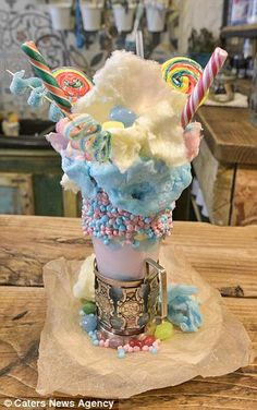 Freakshake: This treat is so sweet that the mind boggles