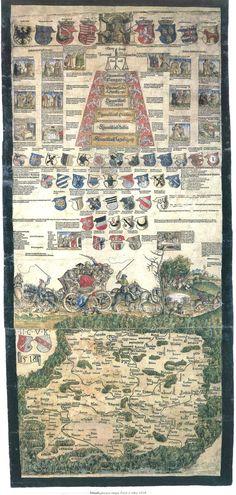 1518 Bohemian map