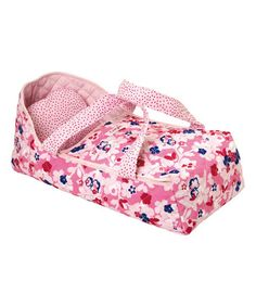 Love this Mon Classique Carrier Bed for 17'' Doll on #zulily! #zulilyfinds