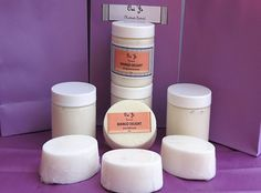 """Mango Delight"" Whipped Shea Body Butter - Absorbs easily into the skin to help hydrate dry and damaged skin with a non-greasy feel.   Skin conditioning Shea Butter and Coconut oil makes this a great moisturizer.  www.OuiJeHandmade.com"