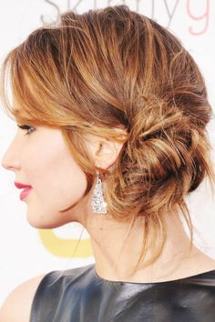 Jennifer Lawrence Hairstyles - How To Get Jennifer Lawrence Hair