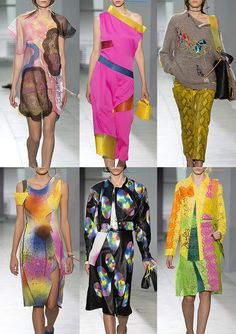 London Fashion Week Womenswear Print & Pattern Highlights Part 1 – Spring/Summer 2016
