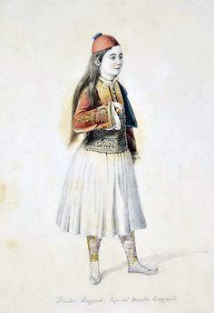 Karl Krazeisen, 1826, ο Δημήτρης Μπότσαρης, γιός του Μάρκου, στην Ζάκυνθο.
